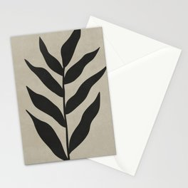 ORGANIC SHAPES - GRAY 03 Stationery Cards