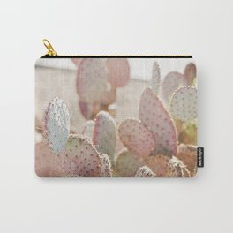 Pretty in Pink Cactus Carry-All Pouch