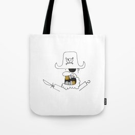Gold Tooth Pirates Tote Bag