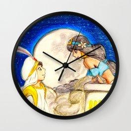 A whole new world Wall Clock