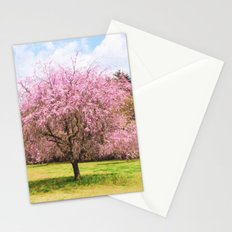 Beautiful cherry blossoms Stationery Cards