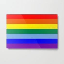 Rainbow Original Metal Print