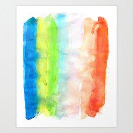 Chromatography 3 Art Print