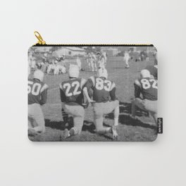 Old Lisle football stance Carry-All Pouch