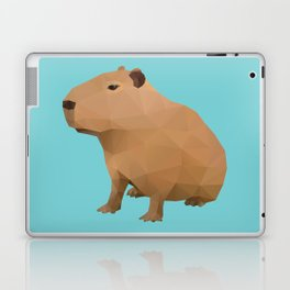 Capybara Polygon Art Laptop & iPad Skin