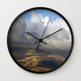 Beautiful Snowdonia Wall Clock