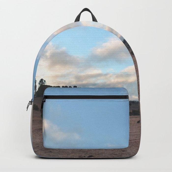 Landscape & Horses III Backpack
