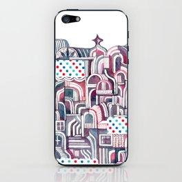 Maroon Castle iPhone Skin