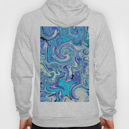 fluid sea Hoody