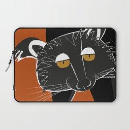 Black bear cat Laptop Sleeve