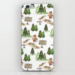 Jersey Devil Welcomes You to the Pine Barrens! iPhone Skin