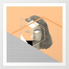 I don't give a fox Art Print