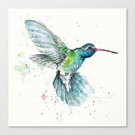 Hummingbird Flurry Canvas Print