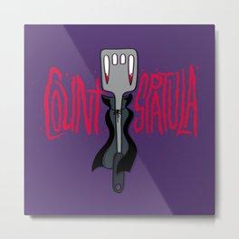 Count Spatula Metal Print