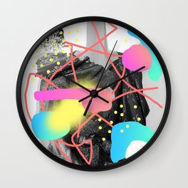 Deluded Misconception Wall Clock