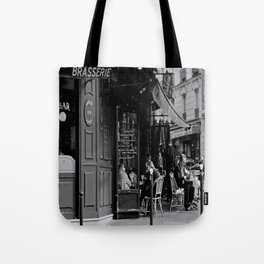 At the Brasserie Tote Bag