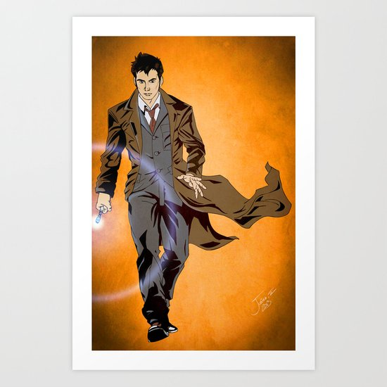 The Oncoming Storm Art Print