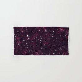 Burgundy Space Hand & Bath Towel