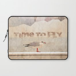 Time To Fly Laptop Sleeve
