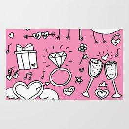 Love Doodles Rug