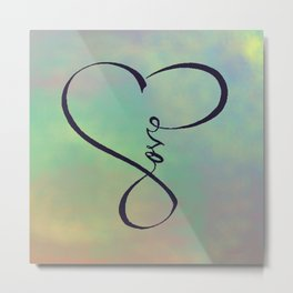 Love in my heart Metal Print