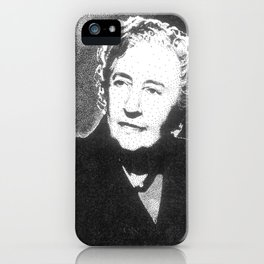 Agatha Christie iPhone Case