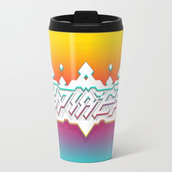 Spires : Crystyl Cystlys Spectrym  Metal Travel Mug
