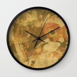 LOK Live Love Montage Wall Clock