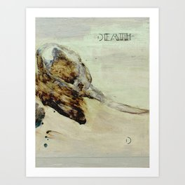 D is for Death Art Print