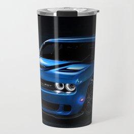 B5 Blue Hellcat Challenger SRT Travel Mug