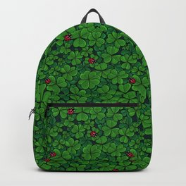 Find the lucky clover Backpack