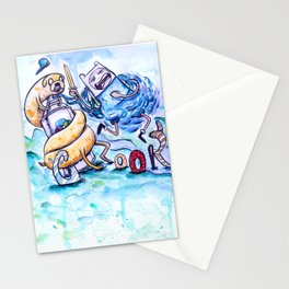 Finn, Jake and the Crook Stationery Cards