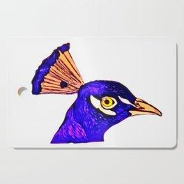 Peacock Art ~ Jennifer's Art Design Cutting Board