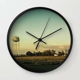By The Riverside #2 Wall Clock