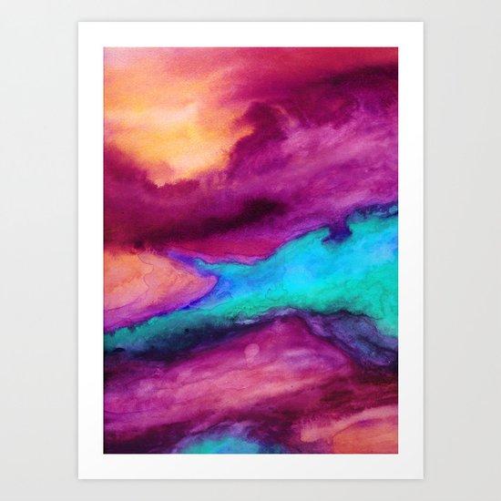The Tide Art Print