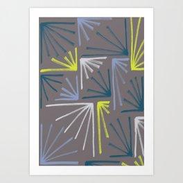 Dusk to Dawn  - Uneven Edges Art Print