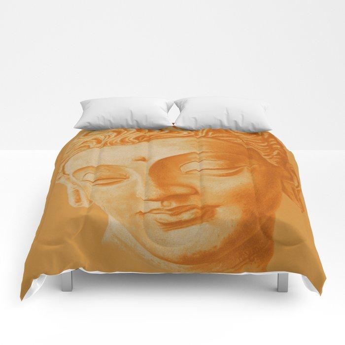 Siddharta Gautama oranje Comforters