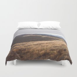 Over the hills and far away Duvet Cover