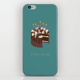 Let them eat cake... iPhone Skin