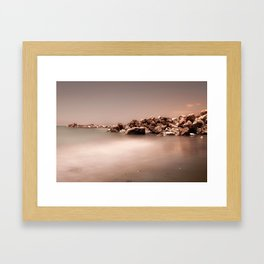 BEACH DAYS 47 Framed Art Print