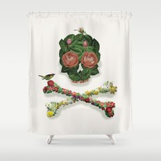 Life (colour option) Shower Curtain