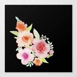 Spanish flowers Canvas Print