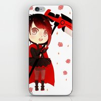 rwby iPhone & iPod Skins featuring RWBY Chibi by Whisperwing