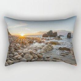 Last rays of light at sunset Rectangular Pillow