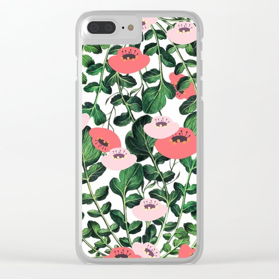 Parsnip & Poppies #society6 #decor #buyart Clear iPhone Case