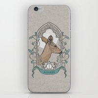 snape iPhone & iPod Skins featuring Severus by Zeke Tucker