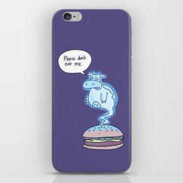 Ghost Cow iPhone Skin