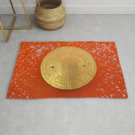 Land of the rising sun Rug
