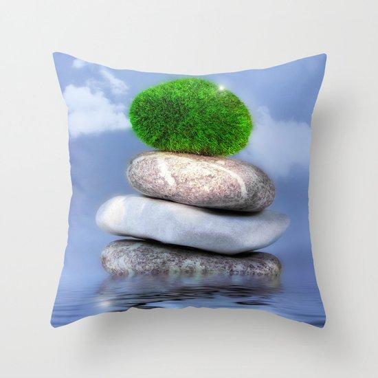 Beauty & Wellness Still Life Throw Pillow