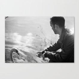 Duck Friend Canvas Print